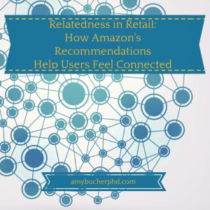 Relatedness in Retail-How Amazon's