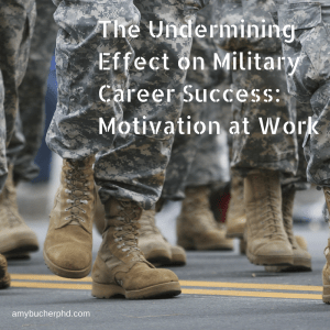The Undermining Effect on Military