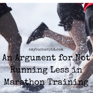 An Argument for Not Running Less in