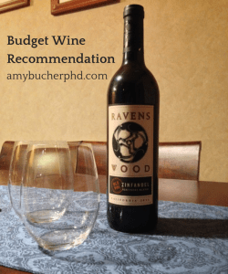 Budget Wine Recommendation