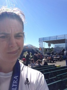Me being dubious about the Michelob ULTRA main stage.
