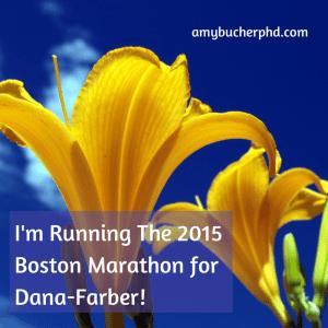 I'm Running The 2015 Boston Marathon for
