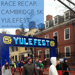 Race Recap- Cambridge 5k Yulefest