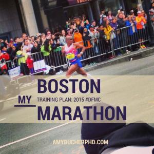 My Boston Marathon Training Plan 2015