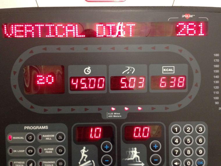 I hate you, treadmill.