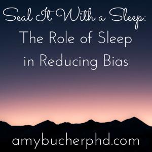 Seal It With a Sleep-