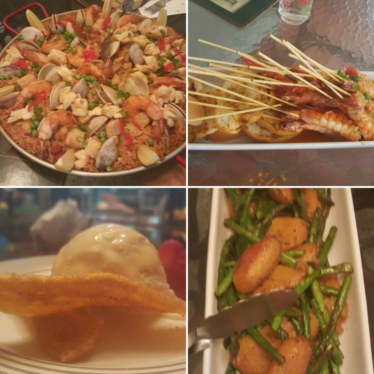 Some holiday foods I recently enjoyed with family--a social way to show love.