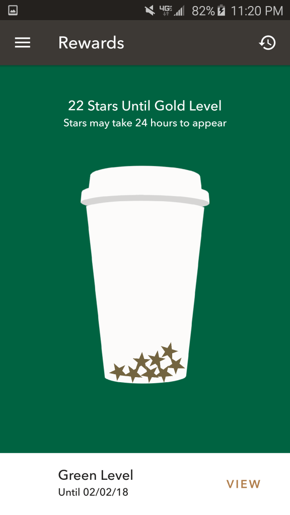 That's better. More coffee = more stars.