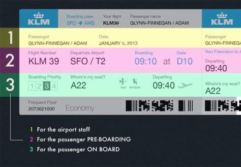 Adam Glynn-Finnegan's take on the boarding pass.