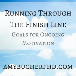 Running Through The Finish Line