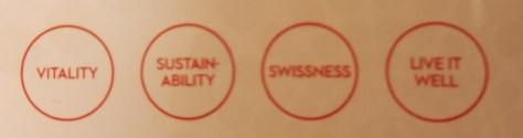 Swissôtel declares sustainability as a brand value right on the room key.