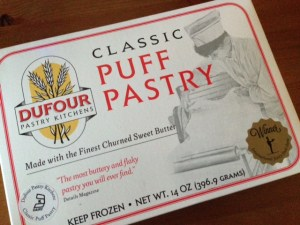 Puff pastry box