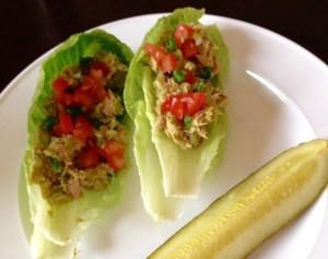 Lunch Fast: Avocado Tuna Salad