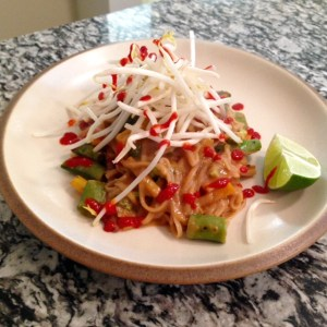 A Return to What Feels (and Tastes) Right: Indonesian Peanut Noodles