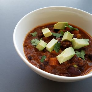 Game Day Vegetarian Chili