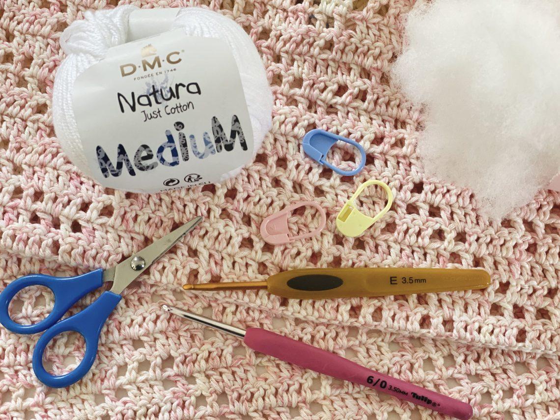 Amy Design Crochet - recommandations de matériel pour des amigurmis au crochet