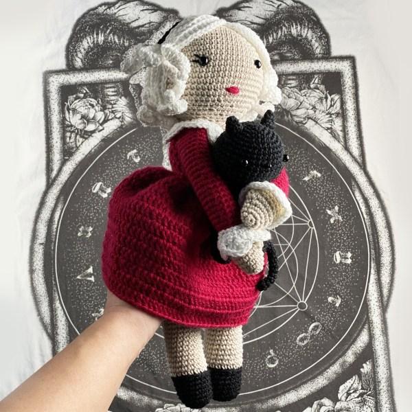 Amy Design Crochet - patron au crochet Sabrina et Salem