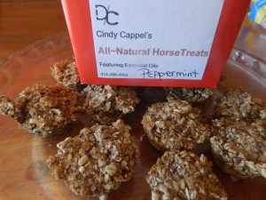 Horse treats made with essential oils. Get started with essential oils.