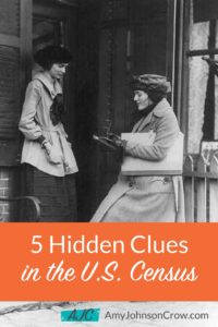 5 Hidden Clues in the US Census — Amy Johnson Crow