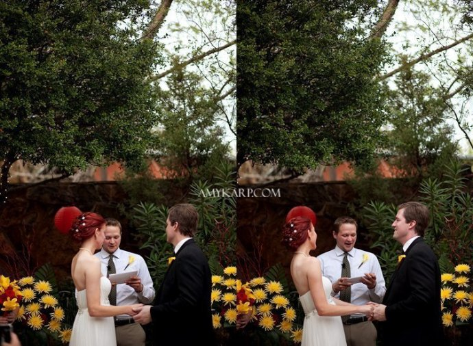dallas wedding photographers at the Maple Manor Hotel by amy karp