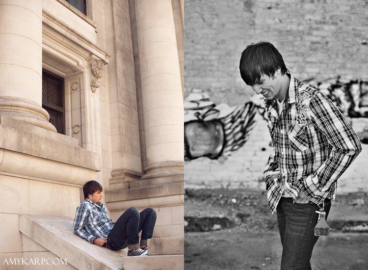 jake senior portraits downtown dallas by wedding photographer amy karp photography