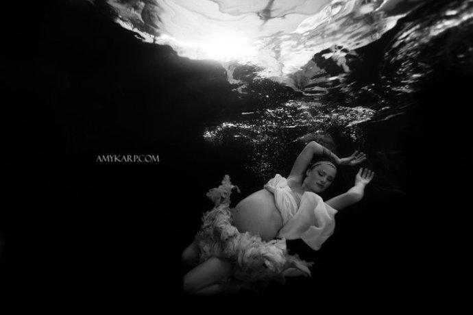dallas underwater maternity photography by wedding photographer amy karp (3)
