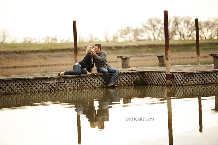 olivia and bobby's farm engagement session with a horse and chess set in ennis texas by dallas wedding photographer amy karp (16)
