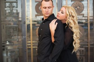 dallas wedding photographer with beth and nathan at hall of state