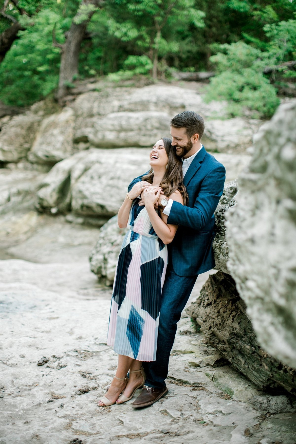 dallas wedding and engagement photographer with hollie and chris