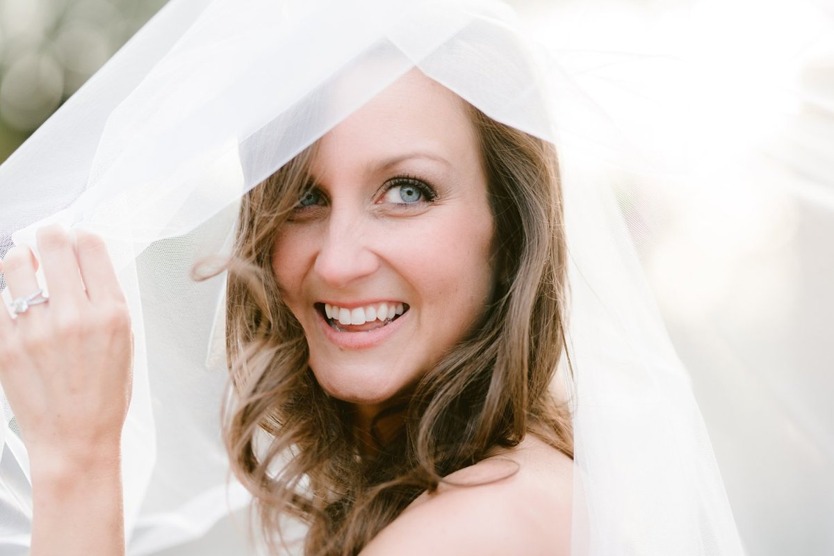 close up dallas bridal portrait