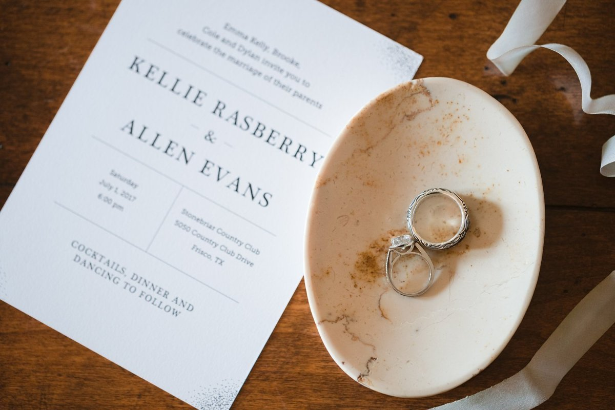 kellie rasberry and allen evans wedding rings