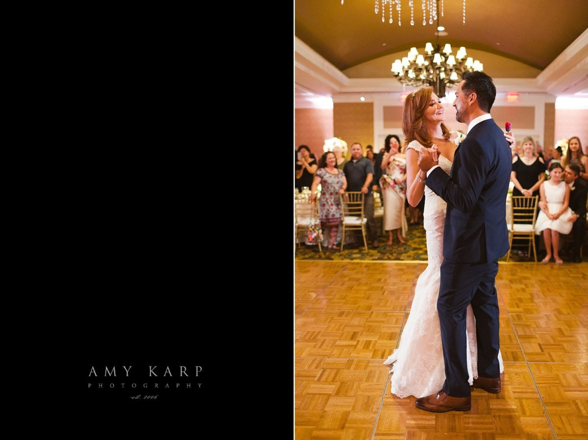 kellie rasberry and allen evans first dance at their wedding