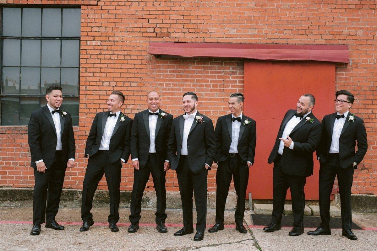 hickory street annex wedding party photos