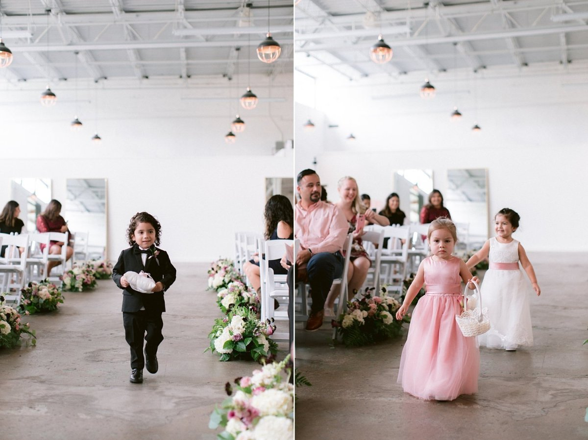 place at tyler dallas wedding photographer processional