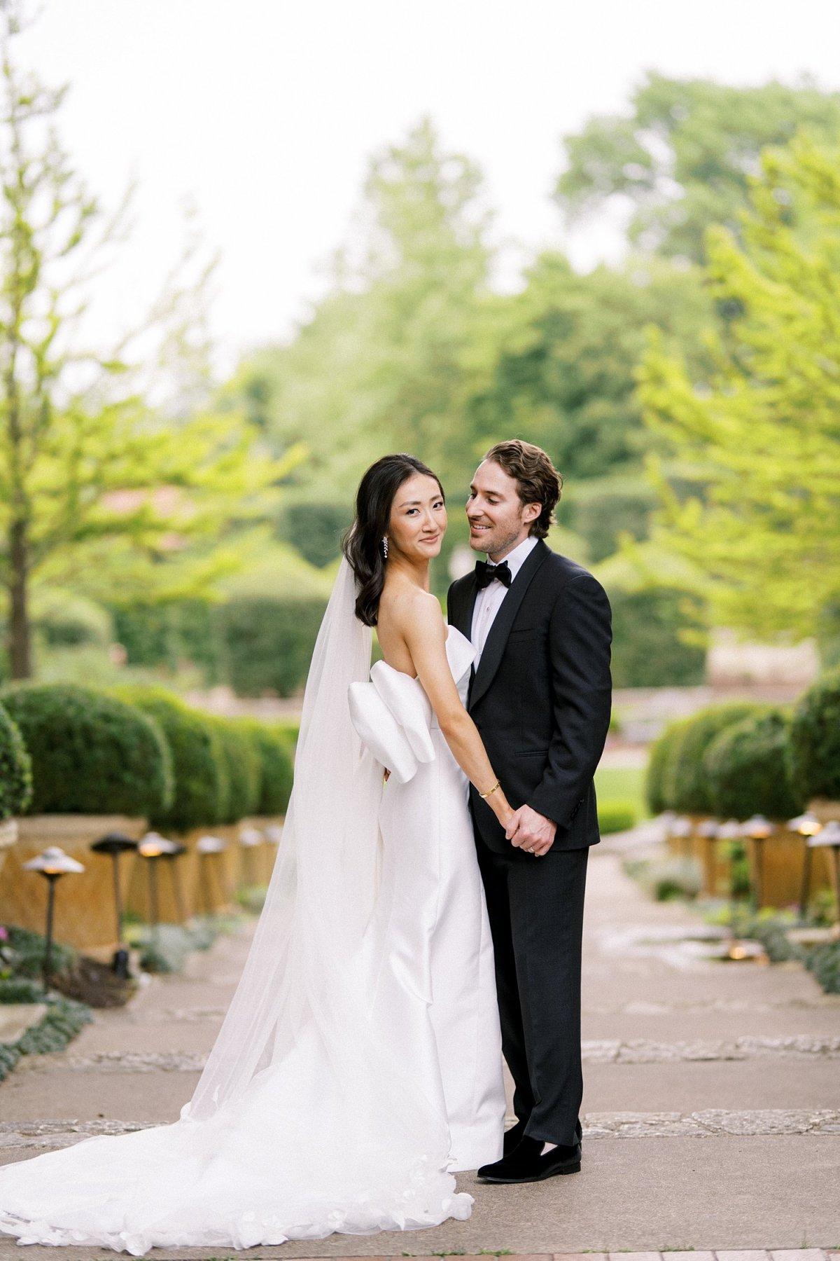 Dallas arboretum wedding sunken gardens