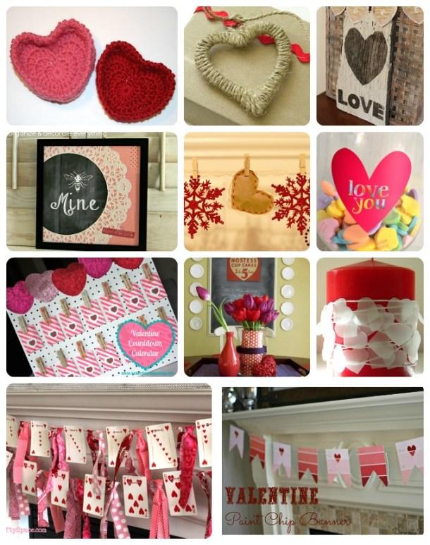 ValentineDecorCollage