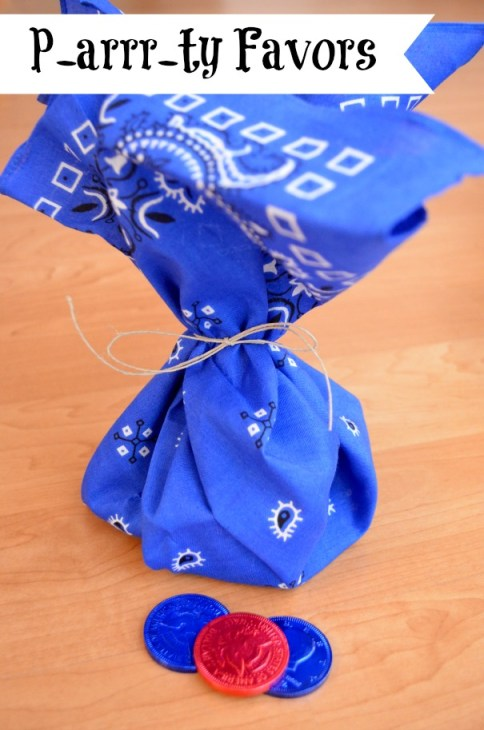 Pirate Party Favors: One Artsy Mama