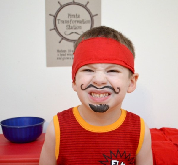 pirate party ideas: Pirate Transformation Station