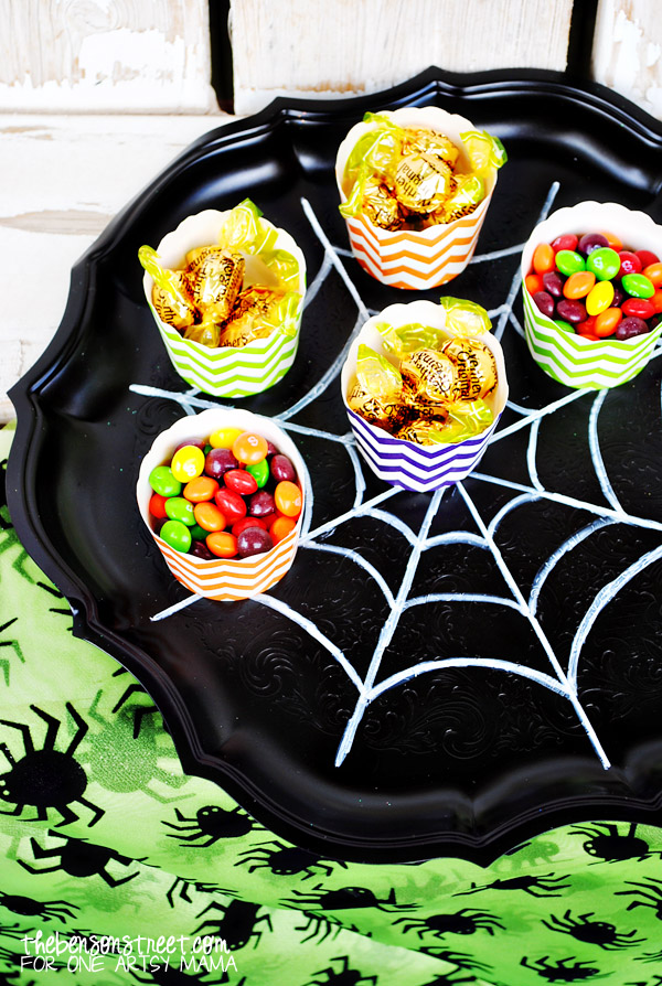 Spider Web Party Tray