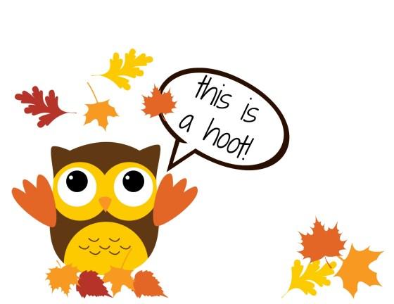 Printable Owl Card