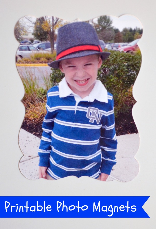 Printable Photo Magnet