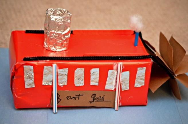 Kleenex Box Steamboat
