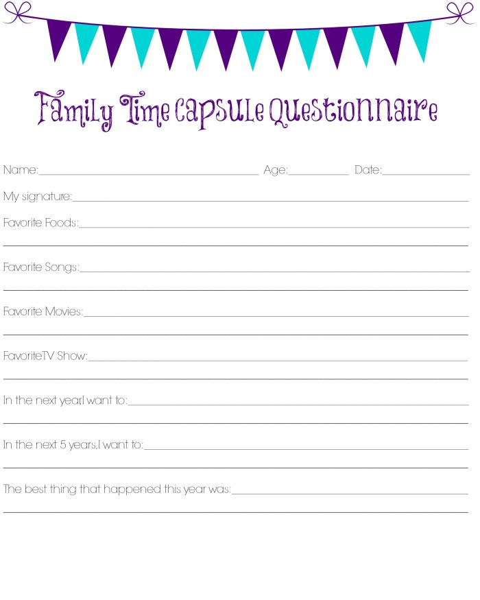 Family New Year's Eve Party Ideas
