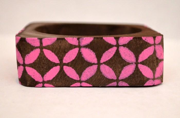 Stenciled Bracelet