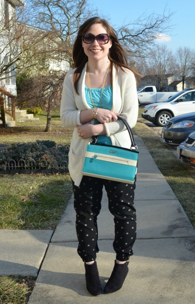 Spring Outfit with Miche Bag