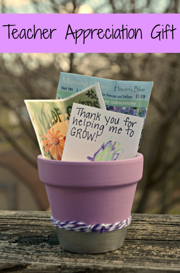 Teacher Appreciation Flowerpot