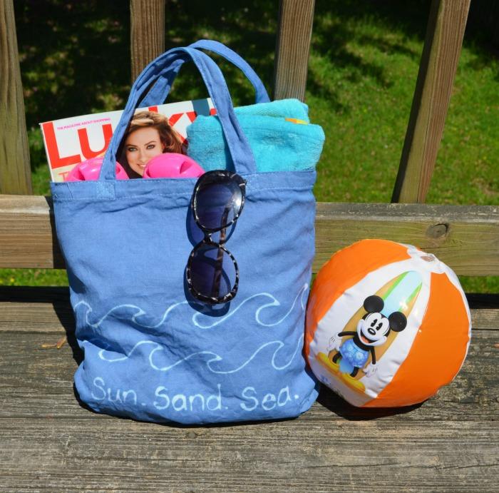 Dye Resist Beach Bag