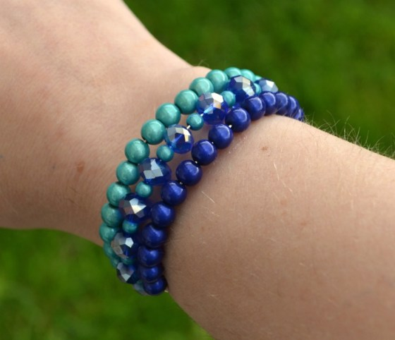 Beaded Stacked Bracelets