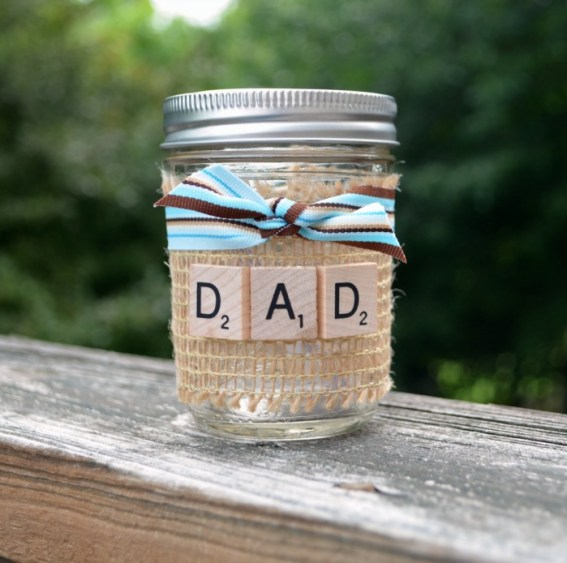 Father's Day Gift of Time Jar