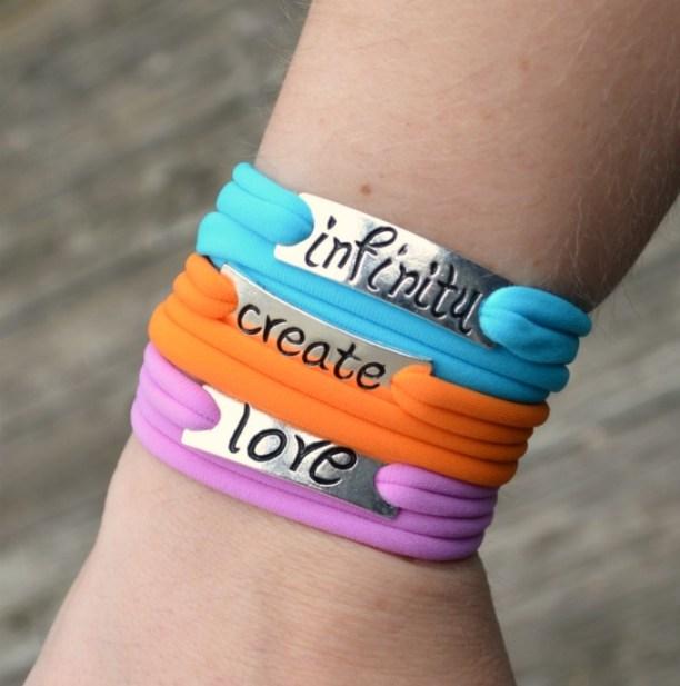 Lycra Wrap Bracelets